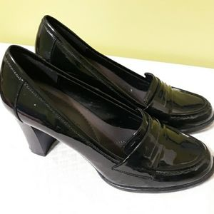 Apostrophe Patent Leather Heels